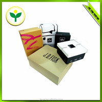 Decorative cardboard shoe box for packing/chinese wholesale suppliers