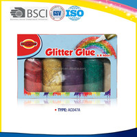 Vivid Colors Non-toxic Glitter Glue Pen for Greeting Card/Paper Crafts decoration
