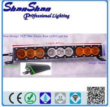 19.2Inch 90W CREE Slim Led Spot Flood Light Bar Offroad 4X4 Atv Motorcycle Ute 4WD SS-090M
