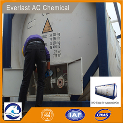 Manufacturer China ISO Tank Pure Ammonia Gas