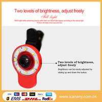 RK09 9 in 1 mobile phone lens flash light lens flash light sellfie flash light