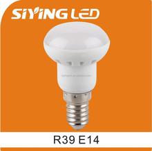 siying led ningbo supplier e14 warming light r39 ce rohs led lamp 3w