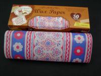 Good Food Wax Folding Paper For Hamburger/Sweet/Food/Packing Paper 50 sheets per box