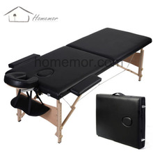 Best adjustable portable wooden massage bed