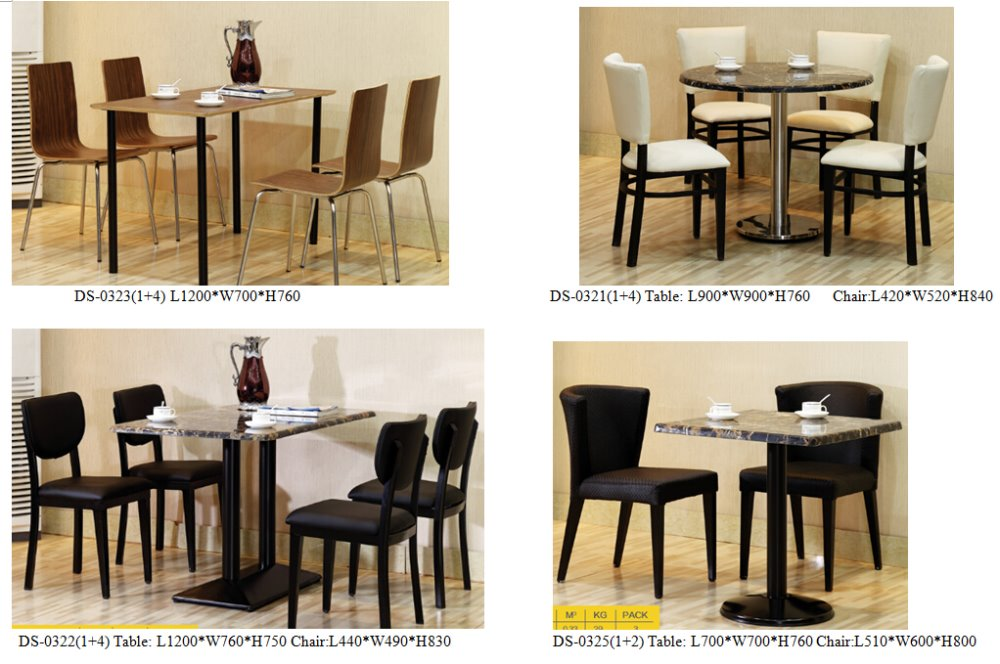 Chinese Marble Dining Room Chairs And Table Restaurant ...