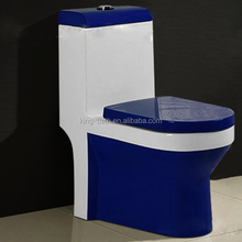 water saving ceramic blue toilet ,one piece toilet,Factory wc toilet ceramic blue toilet