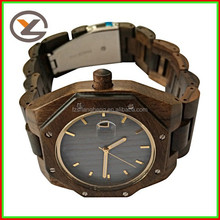 High quanlity end fashion wood men wholesale import watches