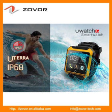 IP 68 Waterproof Android Watch Phone with wifi