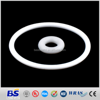 white round shape PTFE teflon flat gasket for seal