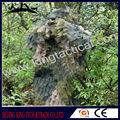 Woodland camo folha terno ghillie, a roupa do exército ghillie terno de caça
