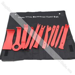 11PC Car Door Trim Panel Removal Tool Set Handy Remover Set & Radio Repair Tool