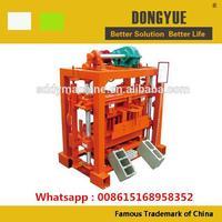 QTJ4-40 simple small manual operated concrete block machine