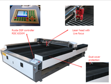 CE!NEW laser cutting machine for metal stainless steel price acrylic die board