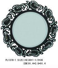 Decorative Accent Home Resin Wall Mirror
