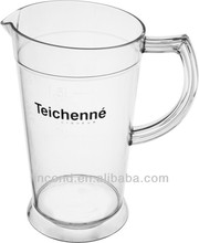 Plastic juice pitcher/ice beer pitcher/water jug