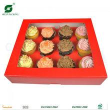 12 PIECE CUPCAKE CARDBOARD BOX (FP600816)