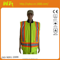 2015 newest alibaba wholesale bulk 100% polyester safety vest reflective vest