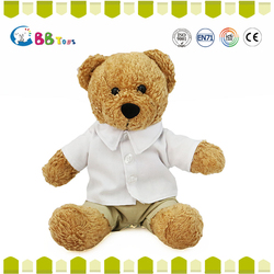 best selling plush stuffed lovely teddy bear voice recorder dolls