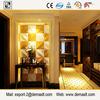 Modern design home interior 3d wall panel fiber cement exterior wall panel