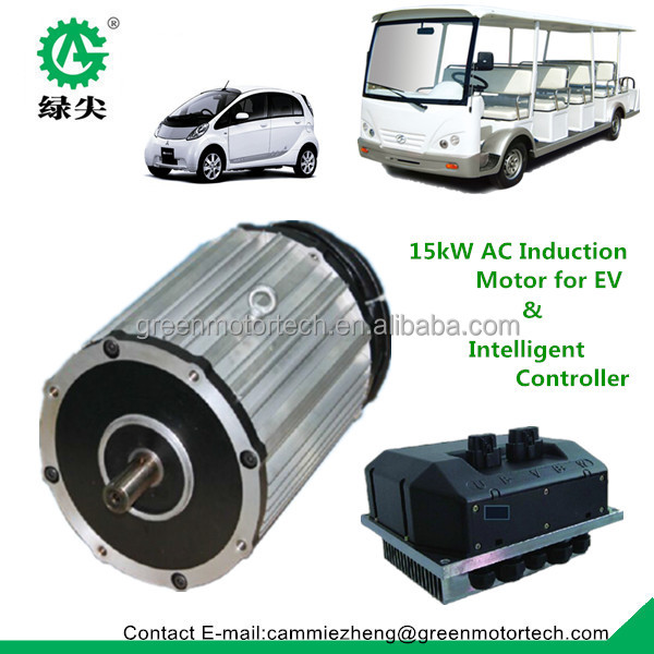 15kw Ac Induction Motor For Electric Vehicle Speed 100km H
