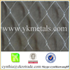Electro galvanized chain link fence with 10 kgs per roll