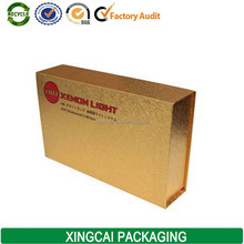 custom special paper gold hid packaging paperboard box