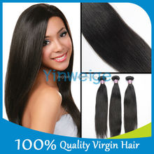 Spicy Hair 100% Virgin Human Hair Virgin Brazilian Straight Wave,Natural Straight Hair