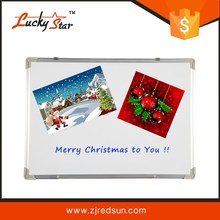 Classic magnetic tempered glass writing whiteboard at competitive price