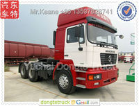460HP 6*4 Shacman heavy duty tractor head truck,tow tractor,towing vehicle +86 13597828741
