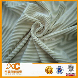 6 wale heavy weight warm corduroy fabric for leisure wear