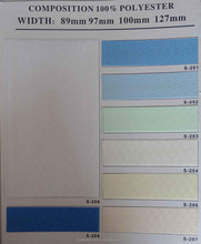 polyester colored vertical blinds prices, window curtains design