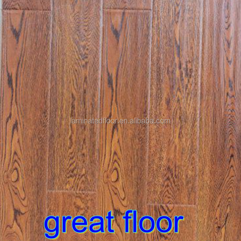 Baroque synchronous surface wood laminate flooring for European laminate flooring