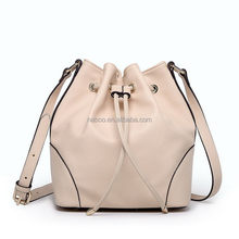 Top grade exported good quality pu lady woman hand bag