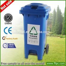 aluminio cubo de la basura automática de la papelera de reciclaje