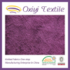 knit polyester fabric for sweaters velvet wholesaler
