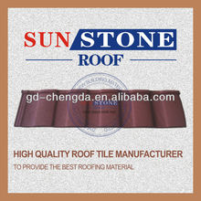 pvc plastic roof tile painted steel roofing plates for tile roofs prices