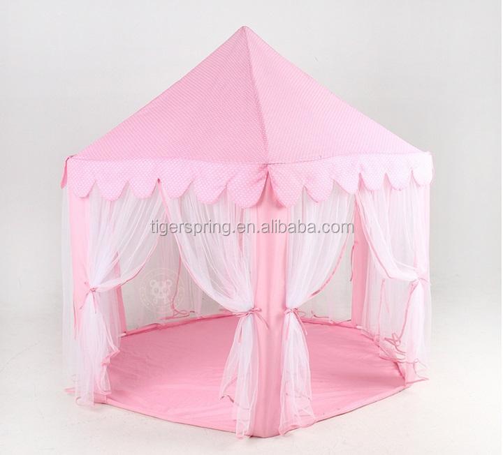 pink hexagonal tienda de juegos para nios grandes de los nios carpa casa de juegos con