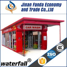 economic and practical 9 brushes tunnel car wash machine