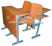 Cheap Wholesale School Auditorium Folding Seat Theatre Chair with Fixed Legs