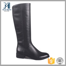 Super high quality black womens genuine leather winter boots wholesale