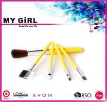 MY GIRL make up brush bag alibaba B2B stuffed promotion set brushes makeup