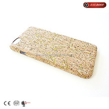 2015 new arrival high quality wholesale hard cork case for iphone 6