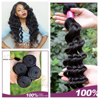 sex products Russian human hair loose wave, 7A no chemical process narutal healthy hair for black people, beautiful woman hair