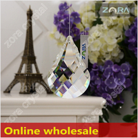 Factory direct sell crystal decoration for curtains for Online wholesale-63mm Crystal Drops N206
