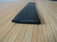 Sponge EPDM extruded flat rubber seal square strip waterproof rubber seal strip