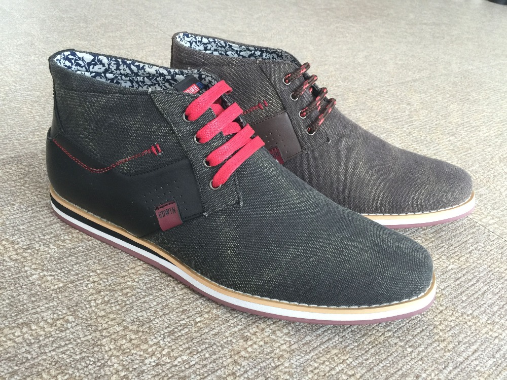 high help with canvas shoes leather casual shoes rubber