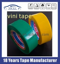 High quality PVC insulation electrical tape colorful VINI adhesive tape