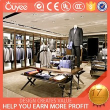 Hot retail store furnitures,clothing store furnitures, men clothes store furnitures