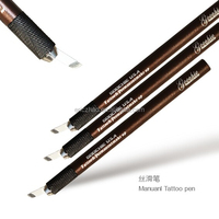 Goochie stainless needle lock technology manual tattoo pen for permanent makeup