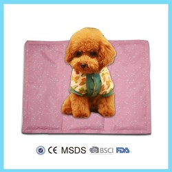 custom reusable soft hot cold gel heated pet mat
